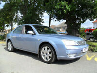 FORD MONDEO 2.0 TDCi 2007 GHIA COMPLETE WITH M.O.T HPI CLEAR INC WARRANTY