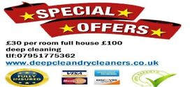 start price from £15 per room professional services spotless service, guaranteed! deep clean 100%