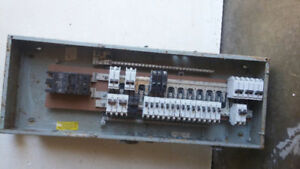 200 amp electricial panel plus breakers.
