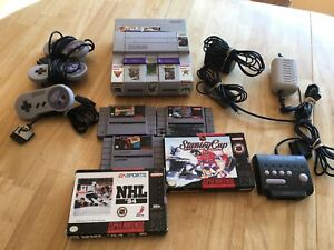 Super Nintendo with lots of extras