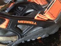 Merrell men's sandals size 9