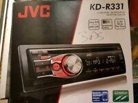 JVC KD-R331 CD PLAYER AND RADIO