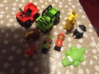 Early Learning Centre HappyLand Safari Adventure Playset