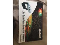 Laser star projector