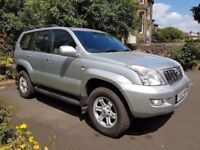 Toyota Landcruiser LC4 3.0 D4D - 120 Series - **very low 71K mileage** - 1 Years MOT - FSH -8 Seater