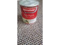 3 x tins of Tile Paint - White