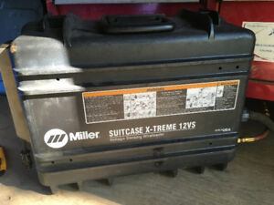 Miller 12VS Extreme Suitcase Welder and Accessories