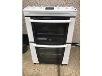 Zanussi White 60cm Gas Cooker