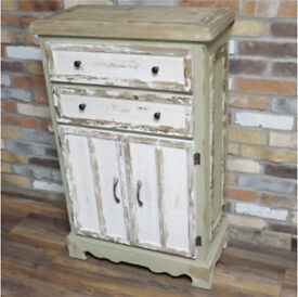 New Shabby French Country style distressed cabinet DELIVERY AVAILABLE