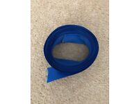 5m of royal blue ribbon