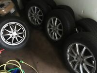 "4xMercedes-Benz 17"" Alloys Wheels and tyres -- Good Condition"