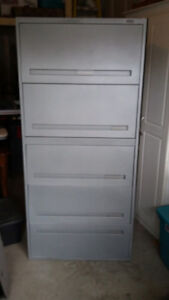 5 drawers lateral filing cabinet  Filing cabinet