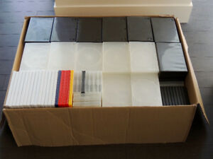 Empty DVD/Blu-Ray/PS3/Wii/DS Cases (Approx. 318) $10 for the box