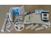 Nintendo bundle: Wii + Wii fit + DS Lite + extras