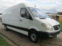 2011 11 MERCEDES-BENZ SPRINTER 2.1 313CDI LWB HIGH ROOF 129 BHP. FSH. PX WELCOME