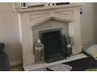 Fireplace with Gas Fire for Sale