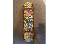 Skateboard with Skeleton Detail, Immaculate Condition