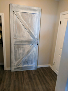 Rustic Pine Barn Door