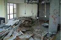 Demolition services / trash / garbage removal