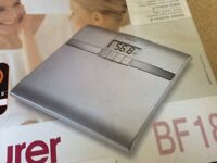 Bathroom scales brand new boxed