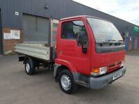 2001 NISSAN CABSTAR 2.7 DIESEL ALUMINIUM BODY DROPSIDE IN IMMACULATE CONDITION VERY LOW MILEAGE 90K
