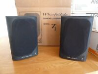 Wharfedale Diamond 7.1 Bookshelf Speakers (Black Ash)