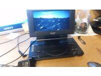 Panasonic DVD-LS84 Portable DVD Player