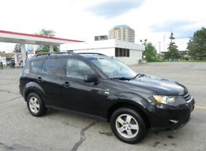 2008 Mitsubishi Outlander SUV, AWD, with Snow Tires on Rim
