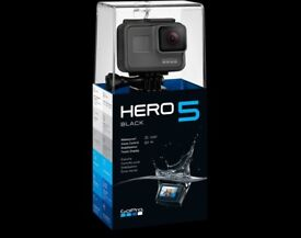 GoPro Hero 5 Black Bundle Like New