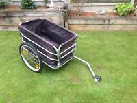 Bicycle attachable trolley second hand