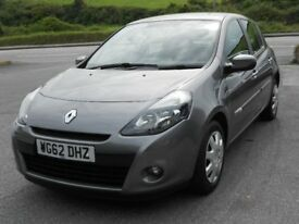 RENAULT CLIO 1.5 DCi EXPRESSION PLUS ECO2, 2012, 1 OWNER, 82'000 MILES, FSH, £0 A YEAR TAX! 78.5 MPG