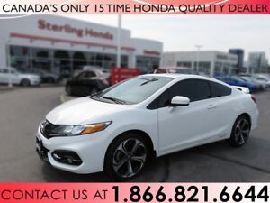 2015 Honda Civic Si   NO ACCIDENTS   1 OWNER   LOW KM'S