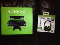 Xbox one, turtle beach and 15 games