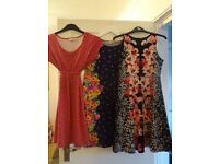 15 item Maternity Clothes Bundle size 10. Includes: Dresses, Skirts, T Shirts and Jeans.