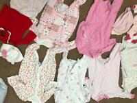 Baby girl clothes 0-3 months old