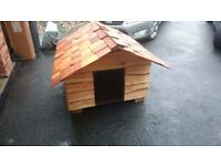 Large Rustic handmade Dog Kennel