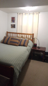 $850 Furnished Bachelor Basement Apt. Dufferin / St Clair Ave