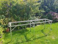 Eden Aluminium greenhouse staging 237cm x 60cm