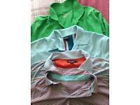 4 Golf Polo Shirts