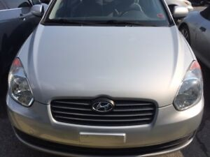 2010 Hyundai Accent GLS Sedan,ABS,AUX,Low KM,Safety,No Accident