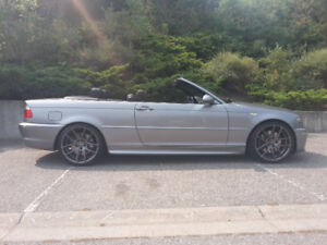2004 BMW 3-Series Convertible with Black Leather