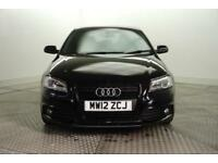 2012 Audi A3 SPORTBACK TDI S LINE SPECIAL EDITION Diesel black Manual