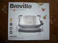 New Breville VST025 Sandwich Press, Stainless Steel (BNIB) £13