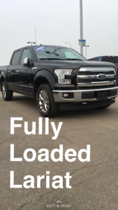 DEMO DEAL 2017 Ford F-150 SuperCrew Lariat $53455