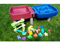 Little Tikes Sand & Water Table - kids outdoor toy/sandpit