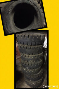 8 Brand New Forklift Tires