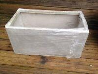 Fibrecotta stone trough