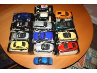 14 x 1:24 special edition Die-Cast Metal Maitsto toy cars in their oringinal boxes.