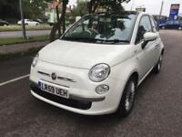 2010 Fiat 500 1.2 LOUNGE Automatic 37k Pan Roof