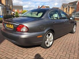 2008 JAGUAR X-TYPE 2.0 D SE 4DR SALOON GREY OUTSTANDING CONDITION